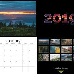 2019 Calendar Mockup