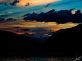 Cheakamus Lake Sunset – Garibaldi Provincial Park