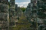The Pillars at Chichen Itza