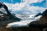 The Athabasca Glacier of The Columbia Icefield