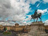 Equestrian Statue at Altare della Patria – Rome, Itlay