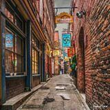Fan Tan Alley HDR – Victoria, BC