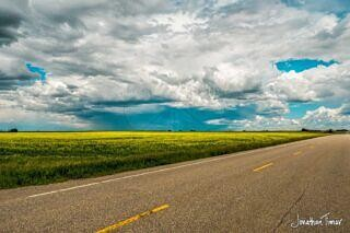 Following the Storm in Eastern Alberta