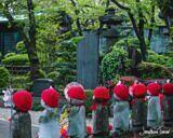 Garden of Unborn Children at Zojo-ji Temple, Tokyo