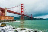 The Beautiful Golden Gate Bridge, San Francisco