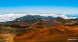 At the Crater On Mt. Haleakala – Maui, Hawaii