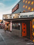 Off to Never Neverland – Fremont St., Las Vegas, Nevada