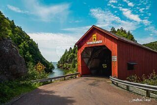 Point Wolfe Covered Bridge - Fundy National Park