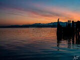 Sunset In Port Townsend