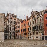 Quiet Piazza in Venice