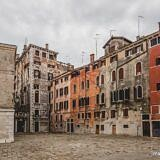 Quiet Piazza in Venice