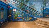 Santa Monica Pier Aquarium Mural