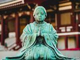 Statue at Zojo-ji Temple, Tokyo