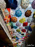 Permalink to Street with Umbrellas – Zurich